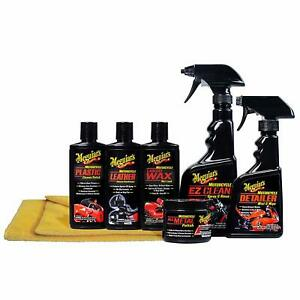 Meguiar s Motorcycle Care Kit Package For Motorcycle Cleaning And Detailing