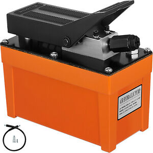 Air Powered Hydraulic Pump 10 000 Psi Foot Pedal Hydraulic Release Pressure
