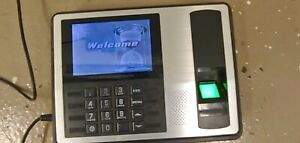 Lcd Attendance Machine Fingerprint Biometric Time Clock Reader