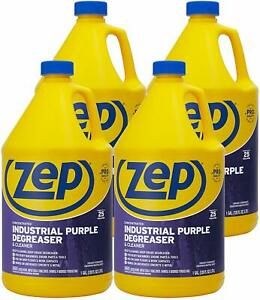 Zep Industrial Purple Cleaner And Degreaser Concentrate 128 Ounces case Of 4