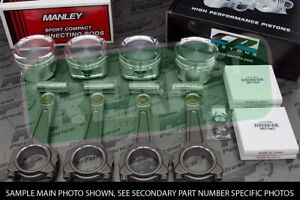Cp Pistons Manley I Beam Rods Sr20ve Sr20vet 12 5 1 86 5mm