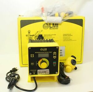 Lmi C921 460si Chemical Metering Pump C Series New In Box W Everything Pictured