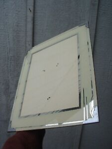 Vintage Art Deco Reverse Painted Glass Picture Frame Vg C 1925