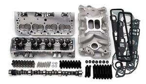 Edelbrock 2022 Power Package Top end Intake Cam Heads Chevy Small Block Kit