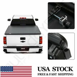 Soft Tri fold Fits 2019 2020 Ford Ranger 5 Ft Short Truck Bed Tonneau Cover