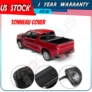 Roll Up Tonneau Cover 5 8 Ft Bed For Gmc Sierra Chevy Silverado 1500 2019 2020