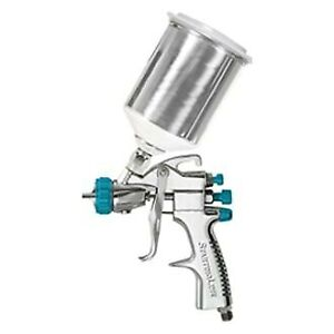 Startingline 2 Pieces Hvlp Finish Coat Primer Gravity Feed Spray Gun Kit