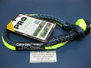 Bubba Rope Gator Jaw Soft Shackle Double Braid Tow Recovery 176745pro 7 16