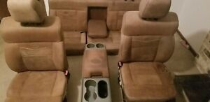 Full Set Of King Ranch Seats 2004 2008 F150 Ford Oem Seats Console