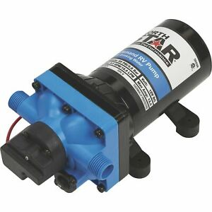 Northstar 12 Volts On demand Rv Pump 5 0 Gpm 1 2in Nps m Ports