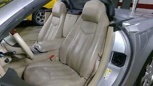 06 09 Cadillac Xlr Leather Seat Set Left Right Cashmere 312 Oem