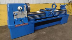 17 X 84 Clausing Colchester Model 17 Gap Bed Engine Lathe Ybm 12268