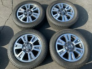 2019 Toyota Tundra Platinum Factory 20 Wheels Tires Oem Rims 75159 Sequoia