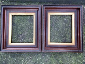 Pair Of Victorian Wood Frames 8x10