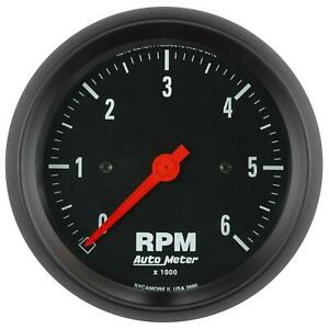 Auto Meter 2695 Gauge Tachometer 3 3 8 in 6k Rpm In dash Z series