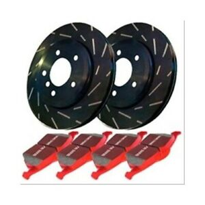 Ebc Brakes Disc Brakes Stage 4 Front Slotted Rotors Ceramic Pads Fits Toyota Kit