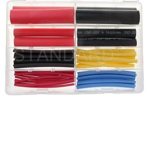 Standard Hst1a 6 Multi color Heat Shrink Tubing Assortment