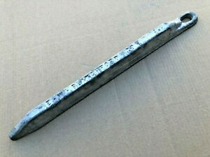 19 Lbs Metal Letterpress Type Lead Ingot Bar Antimony Tin Blend Casting Bullets