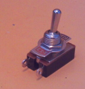 Spst Toggle Switch On off ships From Usa Fender Replacement Lot s a