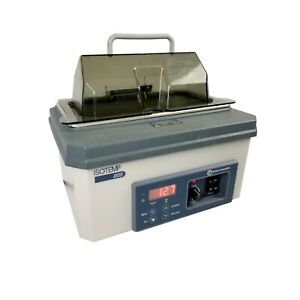 Fisher Scientific Isotemp 205 Heated Digital 5l 100 c Water Bath 15 462 5 W lid