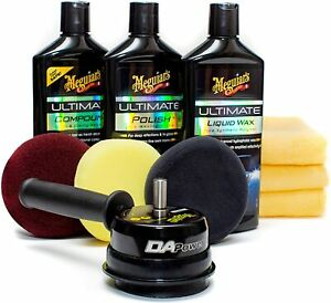 Meguiar s G55107 Dual Action Power System Kit Get Professional Results When