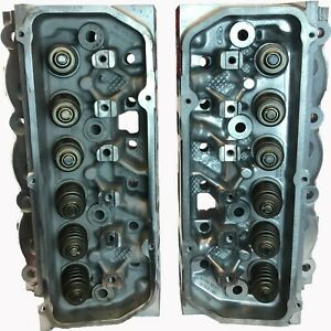 Ford 3 8 V6 Ohv Mustang Thunderbird Cast F6ze Cylinder Head Pair 1996 1998