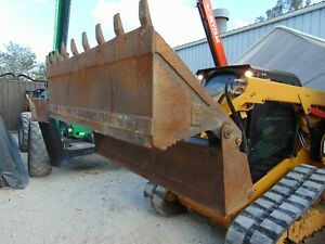 Cat 4 in1 Clam Bucket Severe Duty Skid Steer Attachment 78 Tooth