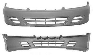 Cpp Front Bumper Cover For 2000 2002 Chevrolet Cavalier Gm1000592