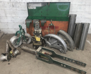 3 Greenlee Model 881ct Conduit Pipe Bender Ybm 12374