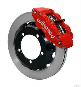 Disc Brakes Forged Narrow Superlite 4r Big Brake Front Solid Surface Rotors Red