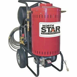 Northstar Electric Wet Steam Hot Water Pressure Washer 2700 Psi 2 5 Gpm 230v