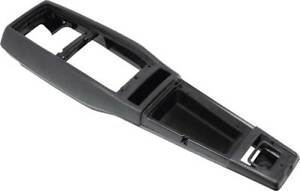 68 69 Camaro Center Console Base Assembly Only With Correct Flocking Oer Brand