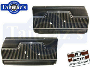 1970 72 Chevelle Front Door Panels Pre assembled New Pui