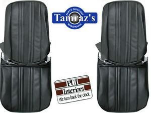 1969 1971 Chevy Ii Nova Front Rear Seat Covers Upholstery Pui New