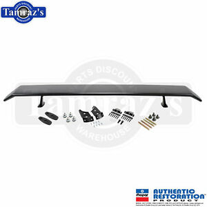 70 74 Barracuda Go Wing Pedestal Mount Rear Wing Spoiler Hardware Painted