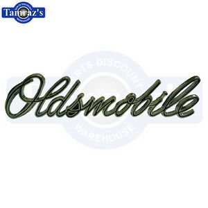 1970 Cutlass S Rallye 350 oldsmobile Grille Grill Script Emblem New