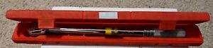 Snap On Torque Wrench Qc3r1600 300 1600 In Lbs Click Type