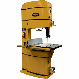 Powermatic 24in Band Saw 5 Hp 230 Volts T square Accu fence Model Pm2415b
