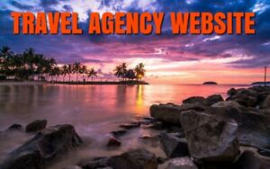 Travel Agency Website Business free Domain hosting Seo Inc Work From Home