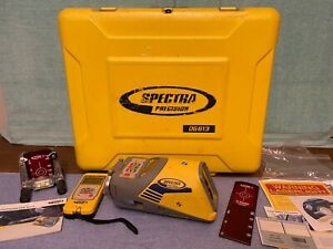Dg613 Trimble Spectra Precision Laser Rc803 Red Beam Pipe Kit