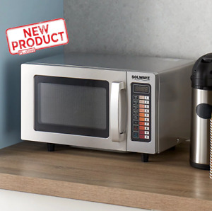 Commercial Microwave Oven Electric Cooking W Push Button Restaurant Equipment