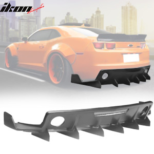 Fits 10 15 Chevrolet Camaro Zl1 Mb Style Rear Diffuser Bumper Cover Pp
