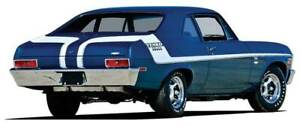 1970 Chevrolet Nova Yenko Deuce Stripe Set White
