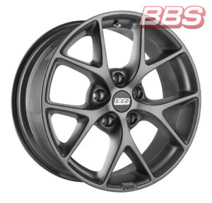 Bbs Wheels Sr 7x16 Et48 5x112 Greym For Audi A3 A4 Tt