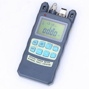 10mw Visual Fault Locator 70 10dbm Fiber Optic Power Meter Cable Tester Tool