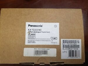 Panasonic Kx tda5180 4 port Analogue Trunk Card New