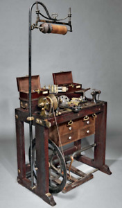 Holtzapffel Company Antique Ornamental Turning Lathe No 1994 And Accessories