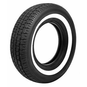 Pair 2 Coker American Classic 1 60 Whitewall Radial Tires 225 75 15 700215