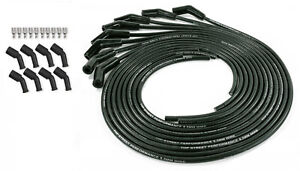 Spark Plug Wires Black Cut To Length 135 Boot Chevy Ls Lsx Coil Pack 5 3l 6 0l