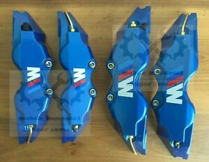 Blue M Performance Brake Caliper Covers Engineering Plastic 120d F11 R9 Bmw